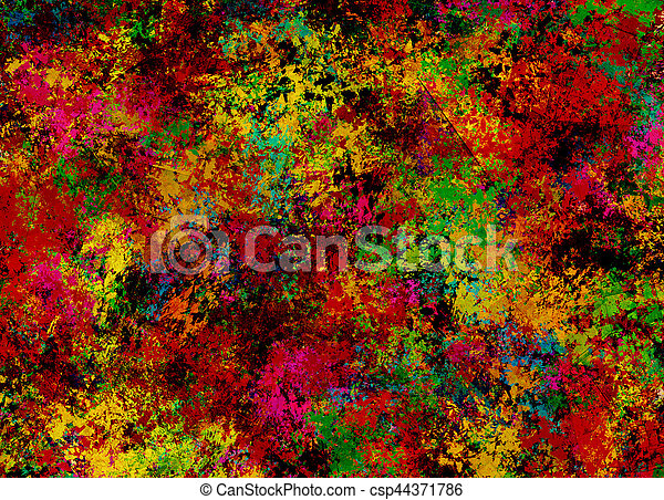 Abstract Painting - csp44371786