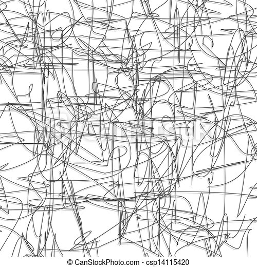 Abstract pencil sketch background csp14115420