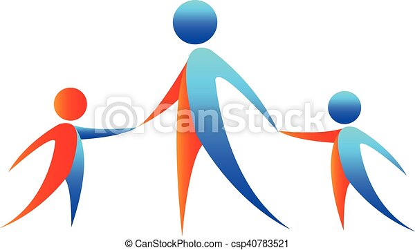 abstract people holding hands abstract three people holding rh canstockphoto com