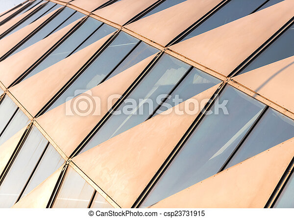 Abstract picture of a modern building - csp23731915