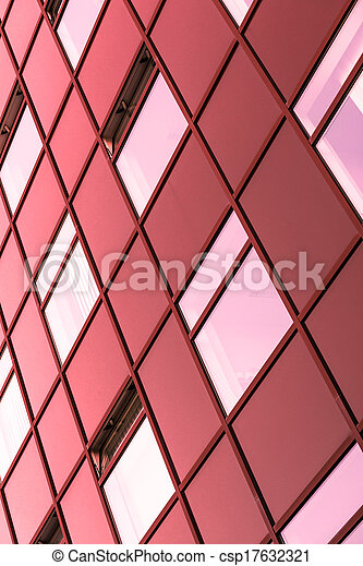 Abstract picture of a modern building - csp17632321
