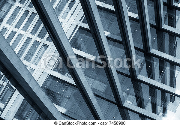 Abstract picture of a modern building - csp17458900