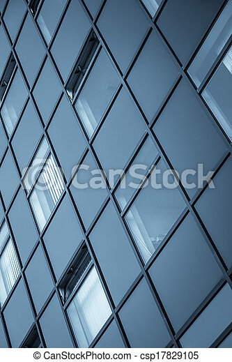 Abstract picture of a modern building - csp17829105