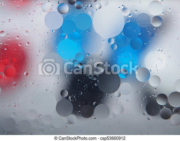 Abstract pictures. Multicolored circles on a colorful background. - csp53660912