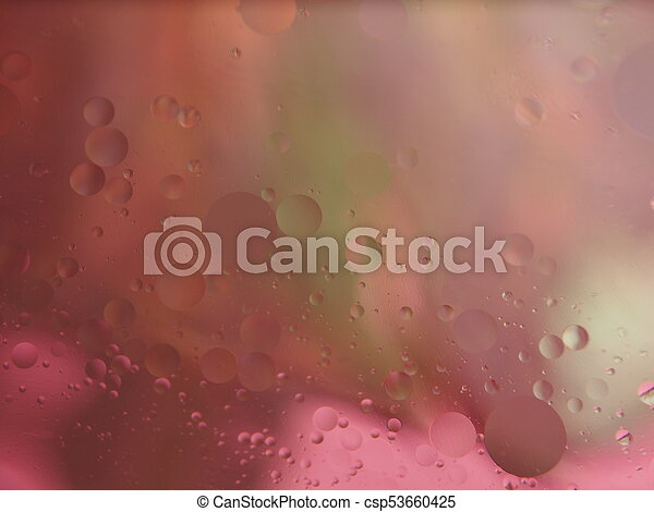 Abstract pictures. Multicolored circles on a colorful background. - csp53660425
