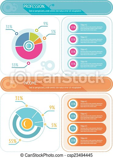 Abstract Pie Chart Graphic For Business Design Infographic Reports