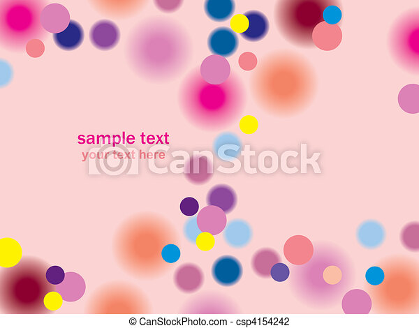 Abstract pink background - csp4154242