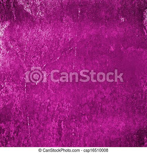 Abstract pink grunge background - csp16510008