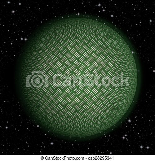 Abstract planet generated texture background - csp28295341