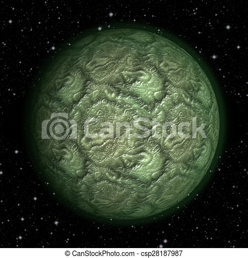 Abstract planet generated texture background - csp28187987