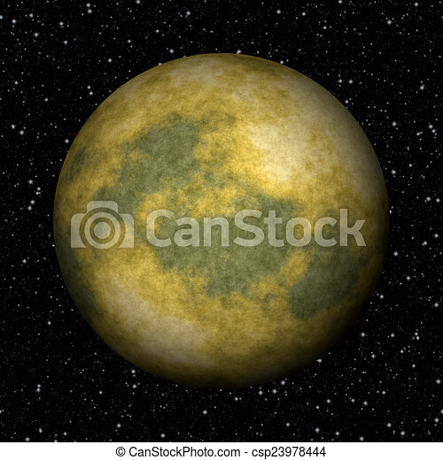 Abstract Pluto planet generated texture background - csp23978444