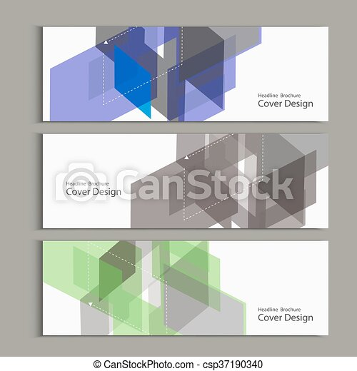 abstract polygon design vector template for banner eps vector