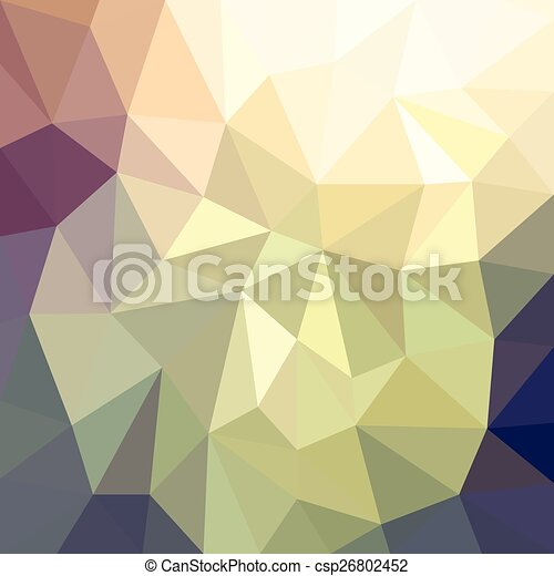 Abstract polygonal background - csp26802452