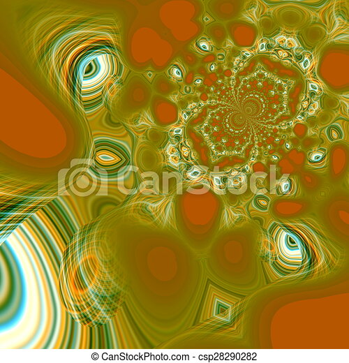 Abstract psychedelic background. - csp28290282