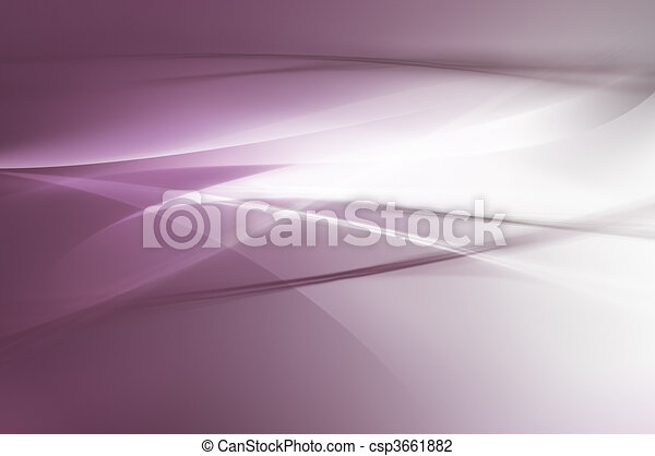 Abstract purple waves background - csp3661882