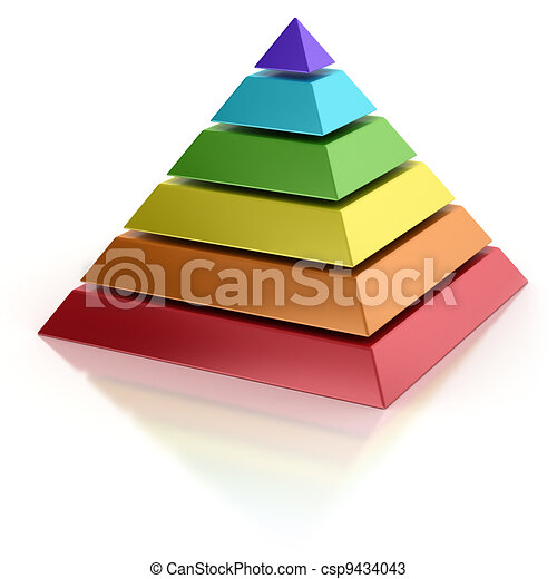 abstract pyramid - csp9434043