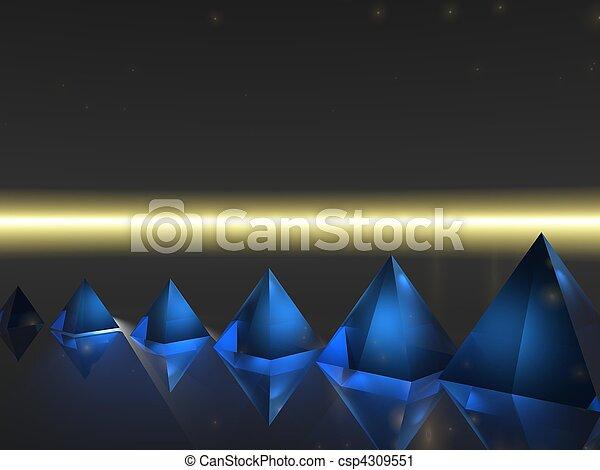 Abstract - Pyramid - csp4309551