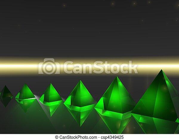 Abstract - Pyramid - csp4349425