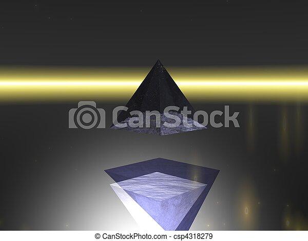 Abstract - Pyramid - csp4318279