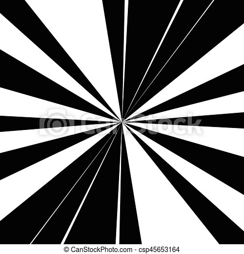 Abstract radial lines (starburst, sunburst) circular pattern - csp45653164