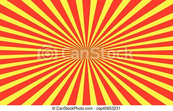 Abstract radial lines (starburst, sunburst) circular pattern - csp45653231