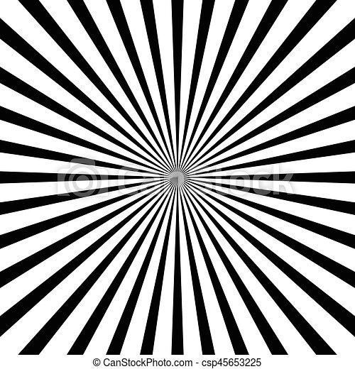 Abstract Radial Lines Starburst Sunburst Circular Pattern Unique Line Pattern Vector