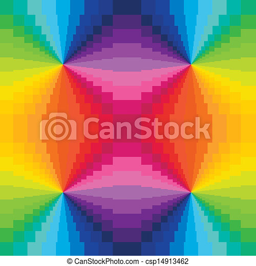 Abstract Rainbow Colors Background - csp14913462