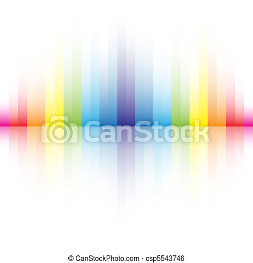 abstract rainbow colors background - csp5543746