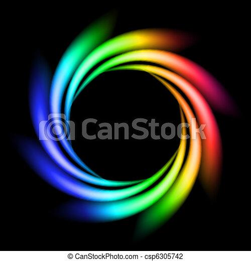 Abstract Rainbow Ray - csp6305742