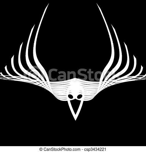 abstract raven - csp3434221