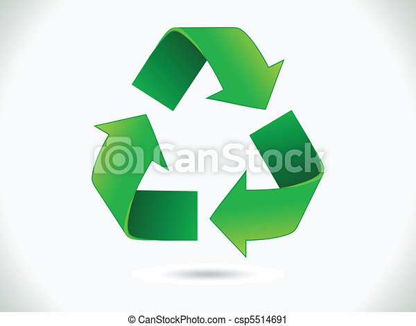 abstract recycle icon - csp5514691