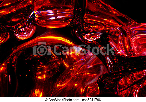 Abstract Red Background - csp5041798