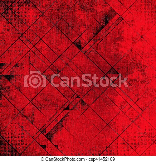 Abstract Red Background - csp41452109
