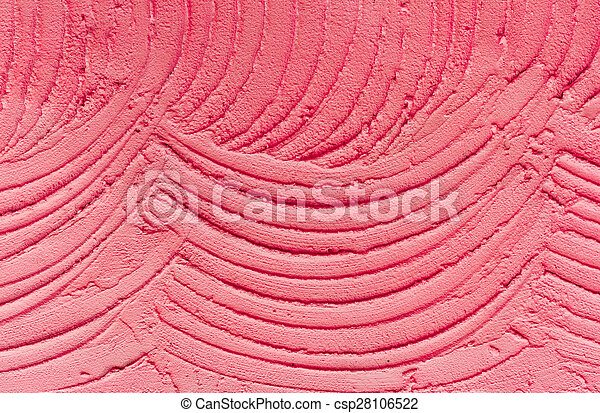 Abstract red cement wall texture background - csp28106522