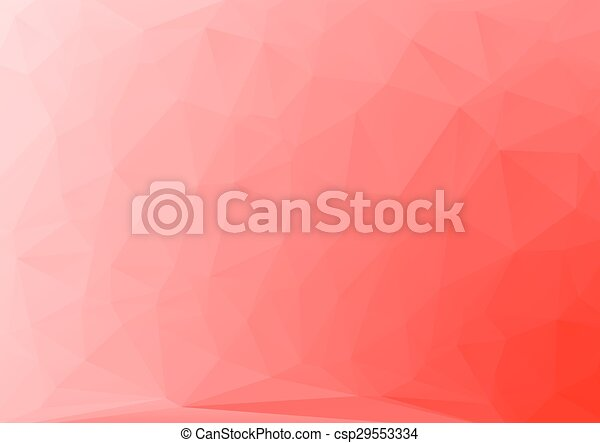 Abstract red Geometric Background - csp29553334