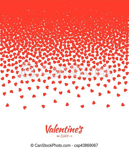 Abstract red hearts gradient background for valentines day design abstract red hearts gradient background for valentines day design vector illustration card wedding invitation card backdrop design element of background stopboris Choice Image