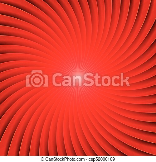 Abstract Red Spiral Background - csp52000109