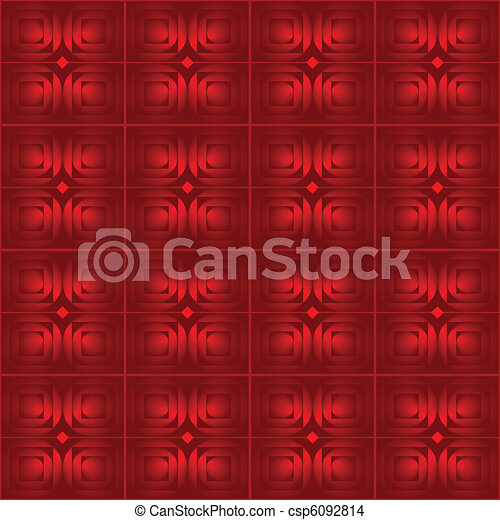 abstract red vector background  - csp6092814