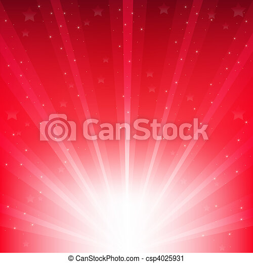 Abstract Red Vector Background - csp4025931