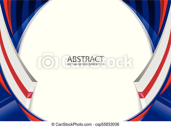 Abstract Red White Blue Background Abstract Elegant Background Design With Space For Your Text Corporate Concept Red White