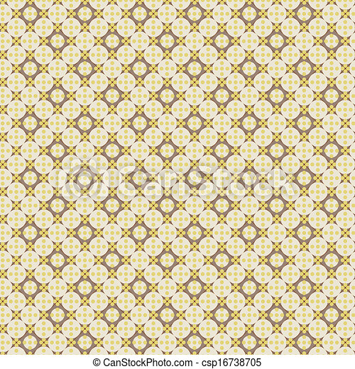 Abstract retro vector pattern - csp16738705