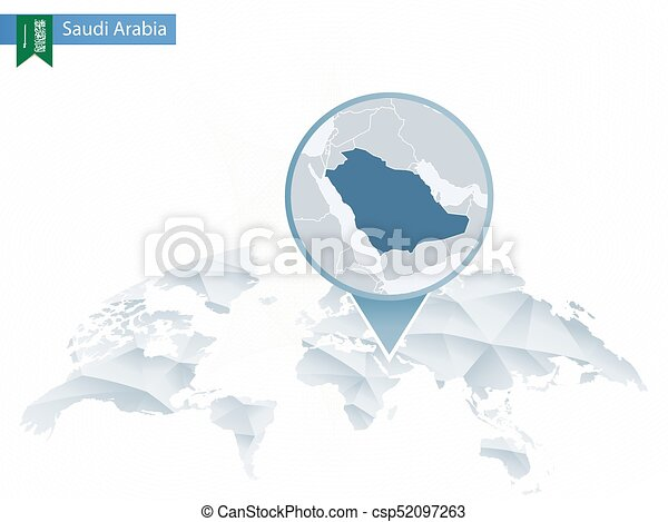 Abstract rounded World Map with pinned detailed Saudi Arabia map. on macedonia world map, congo world map, syria world map, venezuela world map, vietnam world map, iraq world map, israel world map, ukraine world map, nigeria world map, ireland world map, netherlands world map, afghanistan world map, china world map, yemen world map, india world map, egypt world map, turkey world map, iran world map, cambodia world map, belgium world map,