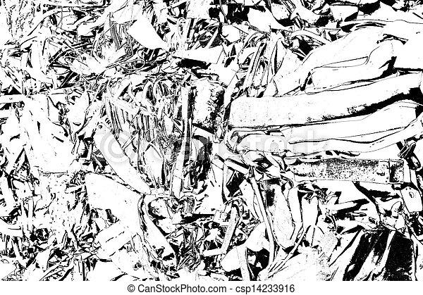 abstract scrap metal - csp14233916