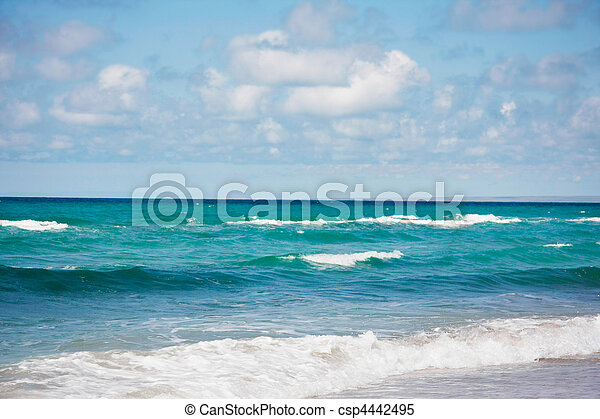 abstract sea view with sky - csp4442495