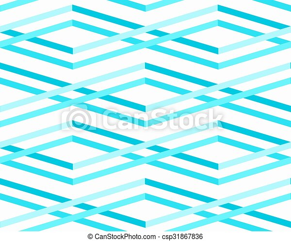 Abstract Sea Waves Seamless Pattern - csp31867836