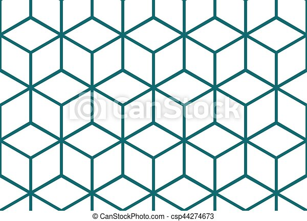 abstract seamless cube pattern abstract seamless background with rh canstockphoto com free vector geometric pattern download geometric pattern vector illustration