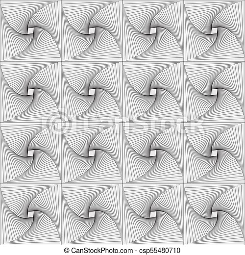 abstract seamless pattern background with lines - csp55480710