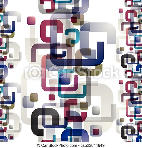 Abstract seamless pattern. - csp23844649