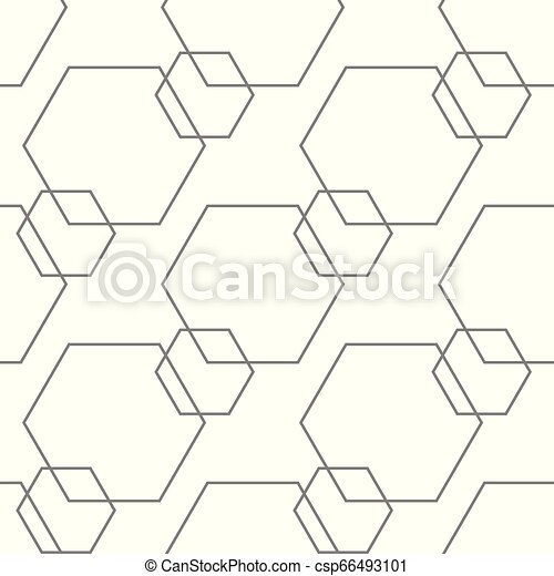 Abstract seamless pattern, minimal geometric background. repeatable texture. - csp66493101