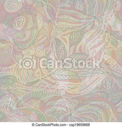 Abstract seamless pattern. Vector, EPS 10 - csp19659668